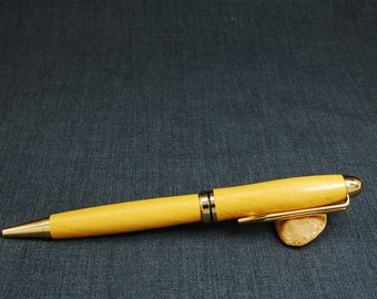 Osage Orange Premium Designer pen with 24k Gold plated parts