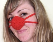 Rudolf Red nose warmer - unisex - cheap worldwide shipping - fun gift idea