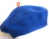 PDF Crochet Pattern Classic Beret  - Permission to sell finished items