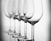 Wine Glasses Vintage rustic neutral black and white Fine Art Photography gray for him rusteam, oht, tbteam