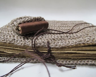 Hemp and crochet journal