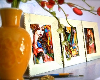 Art Print Gift Set of 3 (4x6 prints).