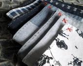 Organic cotton pocket square
