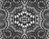 Black and white no.1 repro print