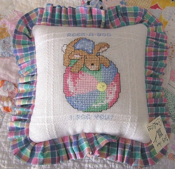 Throw Pillows Nairobi : new throw pillow decorative baby nursery toddler bunny rabbit