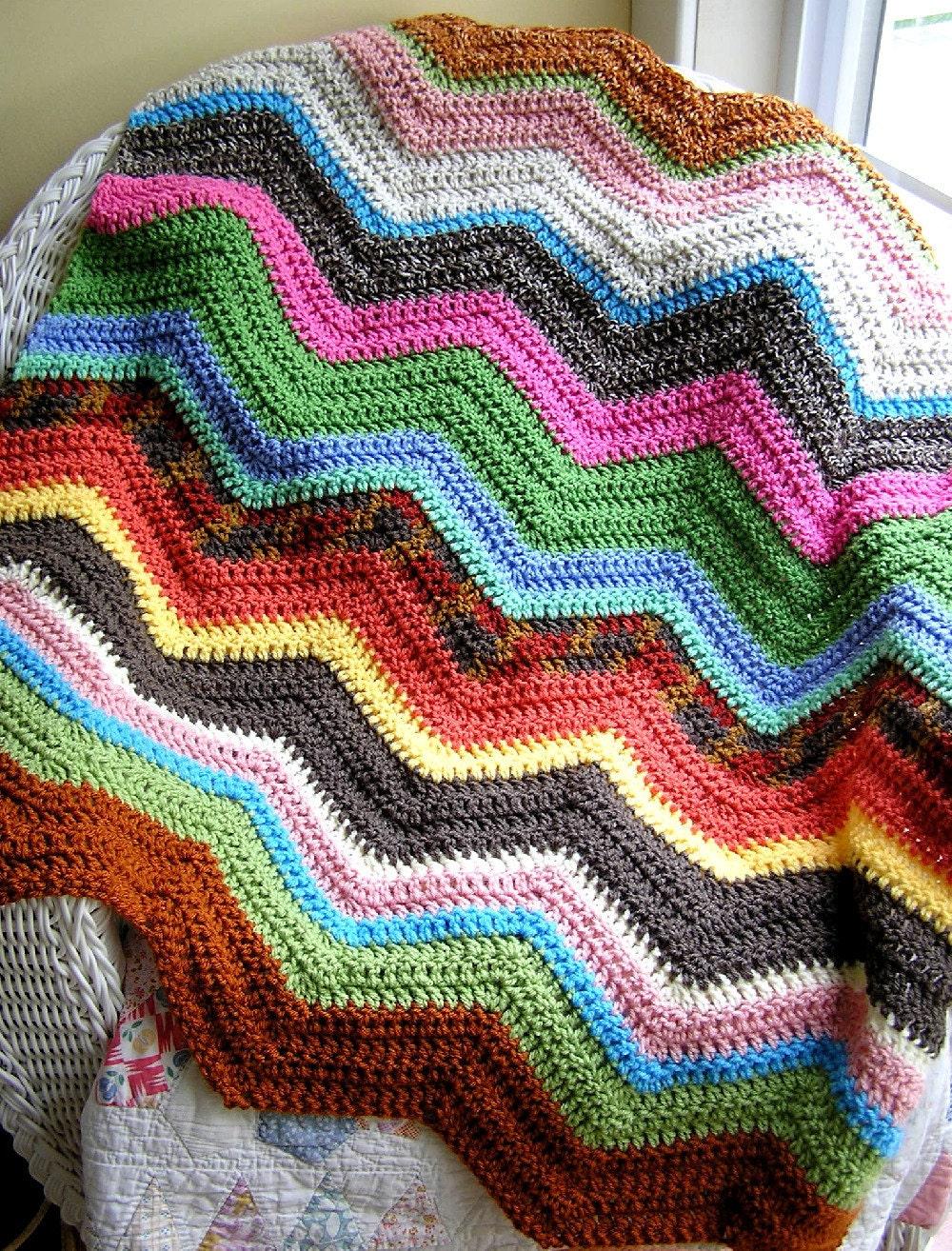 Pin Soft Cream Zigzag By Hanjan Patterns Crocheting ...