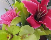 RESERVED FOR ASHLEY - Pink Tropic Pen Bouquet