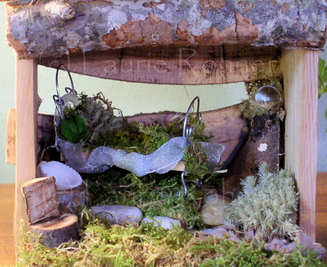 Woodland Fairy House Cottage Bedroom Furnished By
