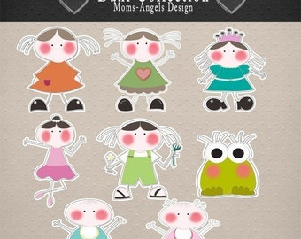 Girly Digital Images Collection