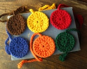Crochet Circle Bookmark - Choose your own color