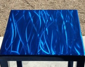 ON SALE until Oct. 7th - Bold Blue Side Table