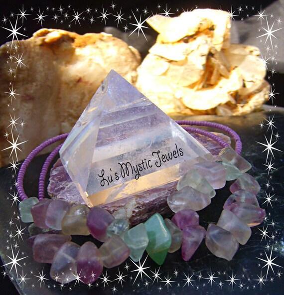 Fluorite Bacelet Heart Chakra Stone Bracelet Chakra Jewelry Direct Checkout