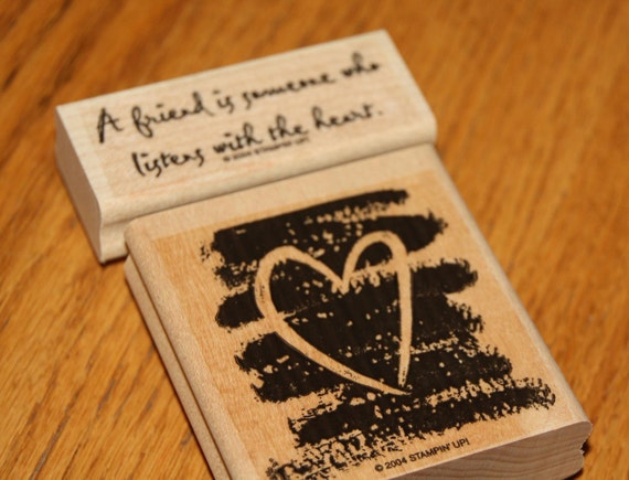 Listen With The Heart Stamp Set by SU - NEW