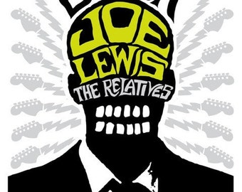 Black Joe Lewis Screenprinted Poster