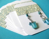 Vintage Damask Earring Cards