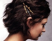 Mix and Match You Choose Tiny Twig Branch Bobby Hair Pins Set of Three by Woodland Belle