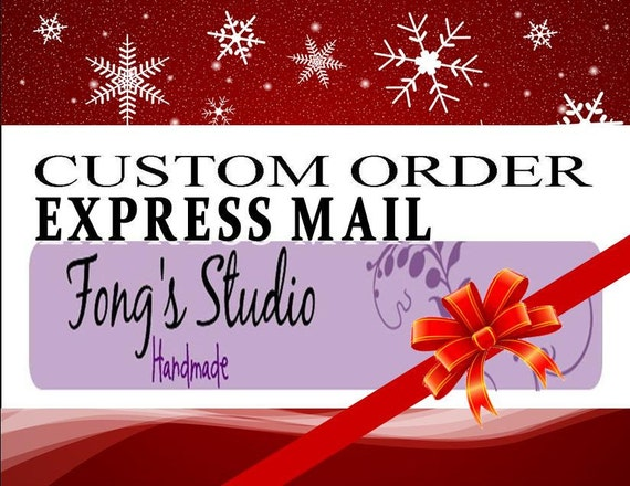Express mail shipping order for coffeeiv