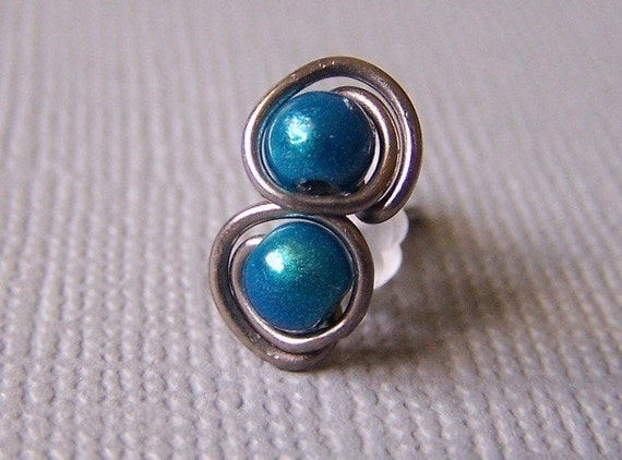 grade titanium earrings grade 1 titanium post stud earrings turquoise handmade by 4568