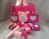 New and Improved Felt Make-Up Set with Eye Shadow