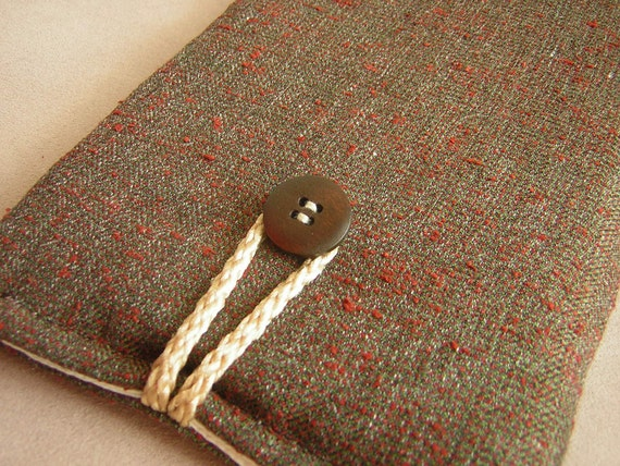 Mens Nook simple touch, nook case, nook tablet case, nook color case, Nexus 7 Case,  Herringbone Tweed