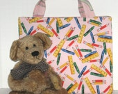 Kid's Korner-- School Days Bag - 50% of sale is donated to Project Linus