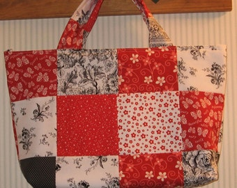 2nd Floor Walkup Patchwork Crafter's Tote