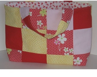 Sunny Day Patchwork Crafter's Tote
