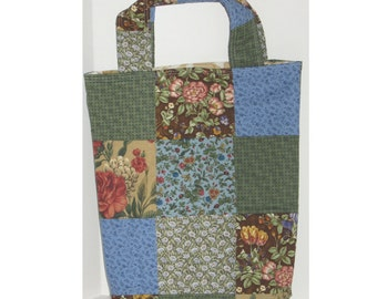 Woodland Walk  Patchwork Knitter's Tote