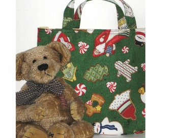Kid's Korner-- Green Cookie Cutter Bag - 50% of sale is donated to Project Linus