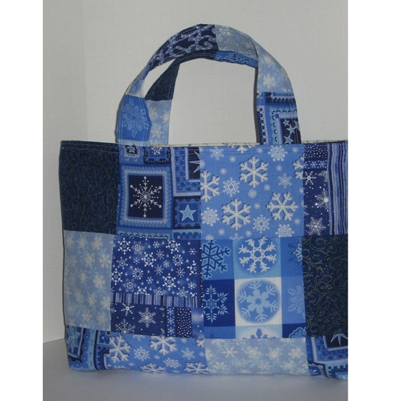 Icy Crafter's Patchwork Tote