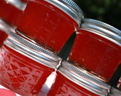 Jam favors, Spread the Love with 25 our 4oz homemade strawberry pineapple jam wedding or shower favor, party favors
