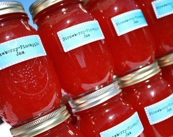 Fill your pantry with Heaven 6 of our 16oz jars of homemade strawberry pineapple jam by Hopes Pantry on Etsy