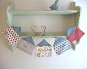 Fabric House Garland - There's No Place Like Home - Hometown