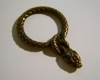 snake embellishment
