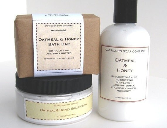 Oatmeal and Honey Luxury Bath Collection with by ...