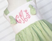 The Meredith...Knot Dress, Monogrammed Dress