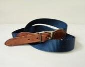 SALE S/M navy waist belt