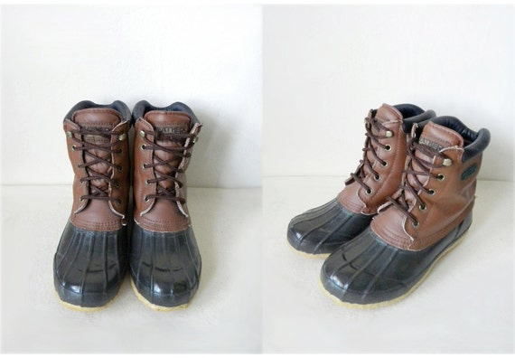 sale size 5 weather spirits brown duck boots