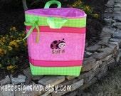 Custom Fabric Gift bag- Ruby