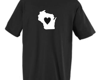 Wisconsin State Shirt New Custom Design