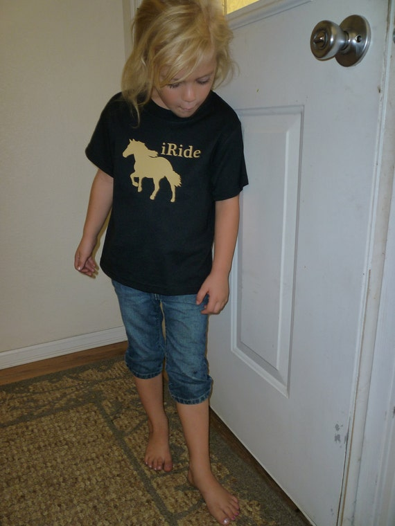 Iride Horse Birthday Party Shirt For Boys And Girls