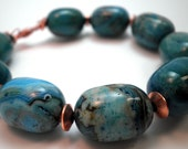 Bracelet - Turquoise and Copper - Classic