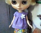 BlytheUrbanTrends - Lavendar Linen Puchi Top