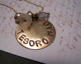 Tesoro Mio Italian Necklace... My Darling