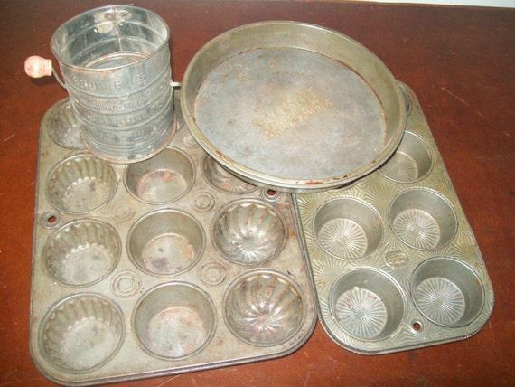 Vintage Metal Bakeware