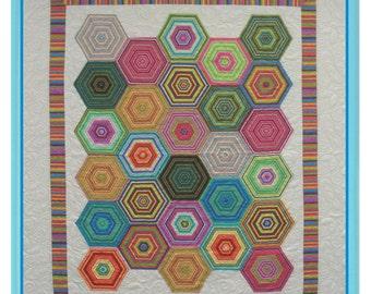 BEACH UMBRELLAS Quilt Pattern by NJ Designs