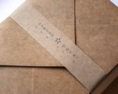 Natural Kraft 4 Bar Envelopes 25/PK
