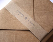 Natural Kraft A7 Envelopes 25/Pk