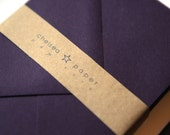Eggplant  4 Bar Envelopes 25/Pk