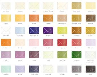 4 Bar Metallic Envelopes 25/Pk